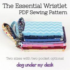 The Essential Wristlet - Dog Under My Desk