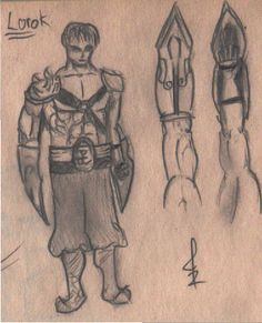 his name.... Lorok, and he is an alternative desing for LoL game #Desafio52