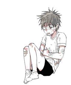 Abused anime boy Guro Kuroko no Basket
