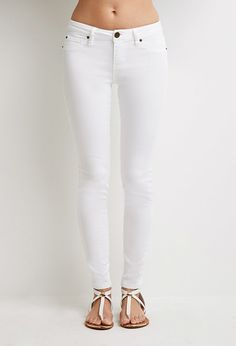 Life in Progress Clean Wash Skinny Jeans | Forever 21 - 2000054242