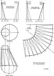How to make a cone and cone calculator sheet metal for Sheet metal cone template