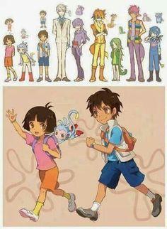 cartoons into anime - Google Search