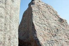 Jelling  Viking Monument in Denmark