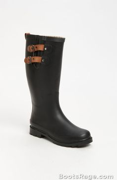 Top Solid Rain Boot 1 - Women Boots And Booties