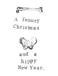 """A little medical humor for Christmas. - A little medical humor for Christmas. """" A little medical humor for Christmas. Best Picture For t - Radiology Humor, Medical Humor, Nurse Humor, Anesthesia Humor, Funny Medical, Wellness Massage, Massage Meme, Anatomy Humor, Skeleton Anatomy"""