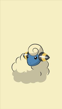 ◾ ( ◾Type - Electric ━━━━━━━━━━━━━━━━ Mareep's fluffy coat of wool rubs together and builds a static charge. The more static electricity is charged, the more brightly the lightbulb at the tip of its tail glows. Nerdy Wallpaper, Cute Pokemon Wallpaper, Cute Cartoon Wallpapers, Disney Wallpaper, Wallpaper Wallpapers, Pokemon People, Pokemon Go, Pokemon Lock Screen, Pokemon Backgrounds