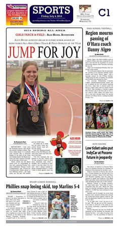 Boyertown's Alex Heuer was named the 2014 Girls Track and Field All Area Player of the Year. Read more at http://www.gametimepa.com/Sports/ci_26087581/GIRLS-TRACK-amp;-FIELD:-Boyertowns-Heuer-named-Mercury-AllArea-Girls-Track-amp;-Field-Athlete-of-the-Year