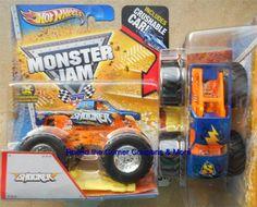 2013 Shocker Monster Jam Truck 1:64 scale Hot Wheels Crush Car Series #HotWheels #MONSTERTRUCK