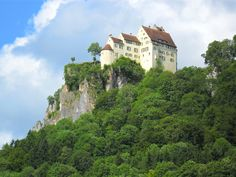 Wildenstein Castle (above river Danube)  Germany. About 25 miles from my home.