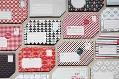 fold your own envelopes, via The Pli Postal Stationary book by Papier Tigre.