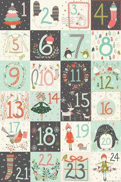 Flora Waycott Christmas Advent - Merry Christmas!