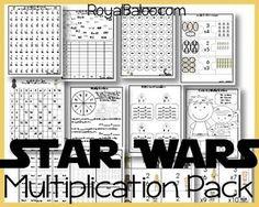 Star Wars multiplication worksheets!