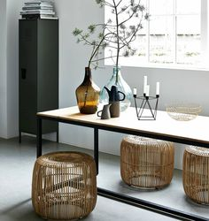 Stool? Side table? How will you use this stool by House Doctor? Beautiful lightweight model that fits in almost any decor!