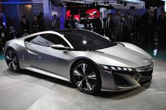 Acura NSX. Gonna be badass if it stays as cool as the concept
