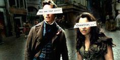 Marius Pontmercy and Eponine Therandier - Les Miserables