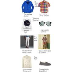 April 2012 Men's Fashion Trends – The Must-Haves for Masculine Monday