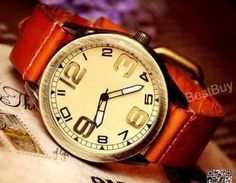 Mens Watches Leather Wristwatches R..