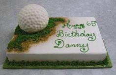 Cakes with Golf themes - ideas