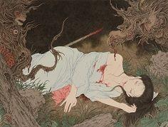 山本タカト「草迷宮」