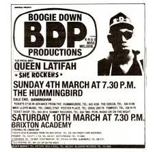 Image result for boogie down productions Boogie Down Productions, Brixton Academy, Krs One, Queen Latifah, Mystery, Hip Hop, London, Flyers, Mysterious