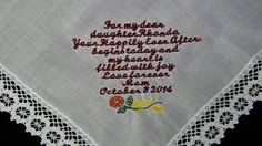 Custom+Embroidered+Gift+to+Bride+from+Mother+by+mrsstitchsboutique,+$19.95