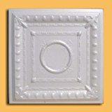 Amazon.com: Ancona White (Foam) Ceiling Tile - 40pc Box - Decorative Ceiling Tile Easy Glue up DIY: Home & Kitchen