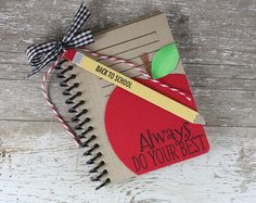 Back To School Coupon Book by Laurie Willison for Papertrey Ink (August 2015)