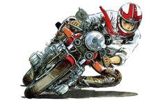 motorcycle manga