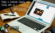 Let the experts at Bayou Technologies build your affordable Small Business Website. We offers high quality responsive mobile friendly website design. Click or call 337.214.1172 to learn more.