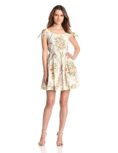 Anna Sui Women's Floral Wreath Print Chiffon Poplin Cold Shoulder Dress, Cream Multi, 0 Anna Sui,http://www.amazon.com/dp/B00BUJ8RRS/ref=cm_sw_r_pi_dp_PhUWrb97A1BF49BE