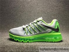 Men's Nike 2015 Air Max Authentic Running Shoes Air Max 2015 Top Shoes 698902 005
