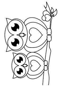 Baykuş boyama sayfası, Owl coloring pages, Página para colorear de búho, Картина сова. Art Drawings For Kids, Easy Drawings, Owl Patterns, Embroidery Patterns, Owl Coloring Pages, Fall Coloring, Owl Crafts, Owl Art, Fabric Painting