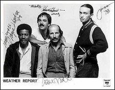 Poster signed... Jaco Pastorius, Wayne Shorter, Sax Man, Gentlemans Club, Weather Report, Jazz Musicians, The Dj, Jazz Blues, Rock Stars