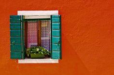 Burano Window by davidnc82, via Flickr