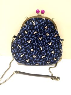 A personal favourite from my Etsy shop https://www.etsy.com/hk-en/listing/507064382/one-bag-2-styles-blue-bunnies-paytern