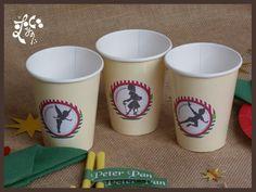 Vasos personalizados Peter Pan