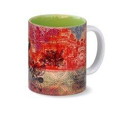 Mugs, Glasses, Bottles,India Circus,Neo Nawab Elegant Mahal Coffee Mug