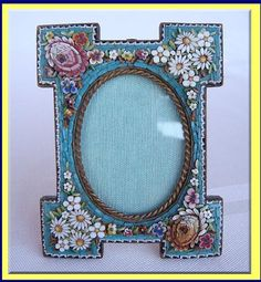 mosaic picture frame | ... » Decorative Interior » Antique Picture Frames For Sale Catalog 2