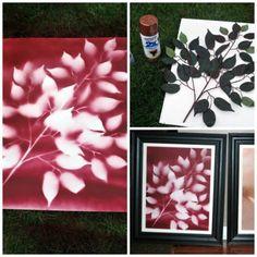 Spray Paint Flowers