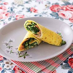 OMELETTE WRAP! So satisfying you won't believe it's gluten-free, wheat-free, yeast-free, and nut-free!   health.com
