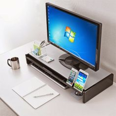 サバイブ: デスクの整理できるモニター台
