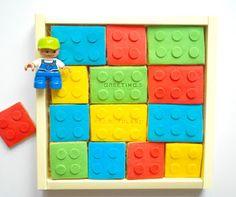 Ciasteczka z duszą: Ciasteczkowe klocki Lego