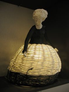 This is quite a lamp. It isn't one I would buy because I don't like the head; but the concept is very clever.