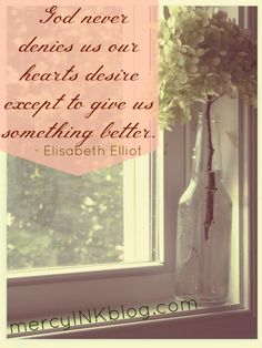 great quote by Elisabeth Elliot, wonderful lady