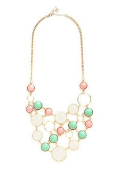 Astronomy Amor Necklace in Pastel, #ModCloth