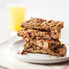Happy National Granola Bar Day! Bake a pan of these snacks and you'll never go back to the boxed stuff.