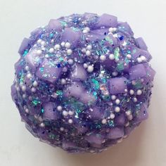 amethyst jelly cube - i might sell this cause it's soooo pretty . i mean look at it. brb guys, i'm gonna go back to sleep . i usually set an alarm just to post slime