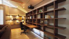 パッシブハウスの家 | 建築家住宅のデザイン 外観&内観集|高級注文住宅 HOP Smart Design, Small Office, Model Homes, Diy And Crafts, Living Spaces, Bookcase, Shelves, Architecture, Interior