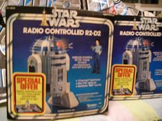 Awesome vintage Star Wars toys, such memories!