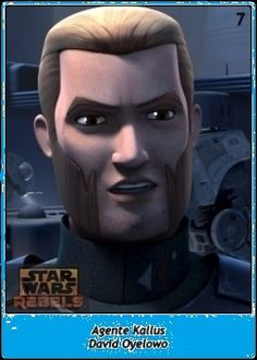 Agente Kallus / Agent Kallus / Star Wars SW Cromos / Rebels